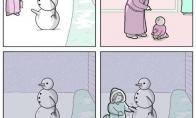 Papimpintas sniego senis