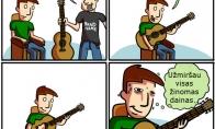 Tikras gitaristas