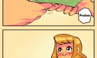 Kontaktas su simpatiška mergina