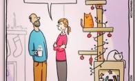 Kalėdinis kačių medis