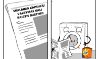 Skalbimo kapsulių žala