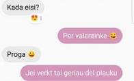 Planas Valentynkei