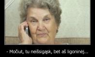 Pokštininko močiutė