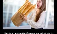 Kodėl merginos sunkiai išsirenka kur pavalgyti