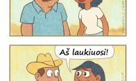Kaip meksikiečių pora sieną kirto