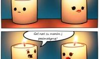 Nelaimėlės žvakės