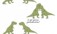 Kodėl dinozaurai mėgo glėbesčiuotis?