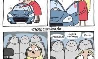 Kai įsigyji pirmą automobilį