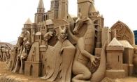 Neįtikėtini kūriniai iš smėlio [24 FOTO]