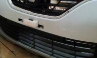 Netikėtas radinys po automobilio bamperiu [4 foto]