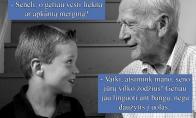 Senelio patarimas dėl merginų