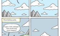 Kodėl debesys pyksta ant žmonių?