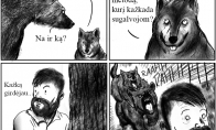 Vilko ir meškos gąsdinimo metodai
