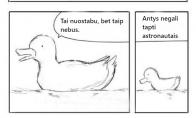 Ančiukas astronautas