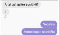 Kai horoskopas prieštarauja pasimatymams