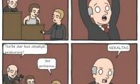 Kai teisme kaip repo dvikovoje