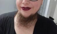 Barzdotos moterys instagrame [GALERIJA]