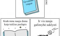 Gyvenimas - kaip knyga