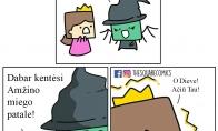 Prakeiksmas princesei