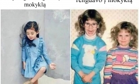 Mergaičių apranga mokykloje