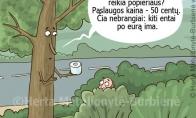 Medis ir tualetinis popierius
