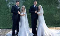 Identiški dvyniai broliai susituokė su identiškomis seserimis dvynėmis (14 nuotraukų)