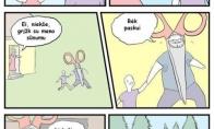 Bėgiojimas su žirklėmis