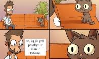 Jeigu katinas galėtų kalbėti