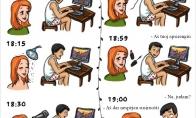 Kaip ruošiasi vaikinai vs. merginos