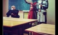 Griežtas istorijos mokytojas