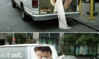 Labai išradingos lauko reklamos (21 paveikslėlis)