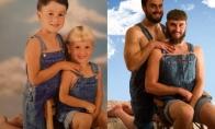 Žavios nuotraukos, atkurtos iš vaikystės (23 nuotraukos)