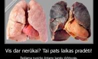 Efektingiausia rūkymo reklama