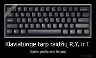 Paslaptis kiekvienoje klaviatūroje