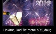 Sveikiname su Naujaisiais!