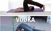 Joga vs. Vodka