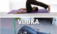 Joga vs. Vodka