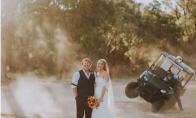 Smogo efektas vestuvinėje nuotraukoje
