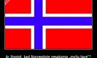 """Ar žinojot, kad Norvegijoje nesakoma """"myliu tave""""?"""