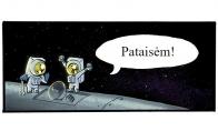 Kosmose sutaisytas gedimas