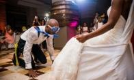 Vestuvinės nuotraukos, kurias pamatęs gali suprasti, jog ten buvo tikrai nurauta šventė [GALERIJA]