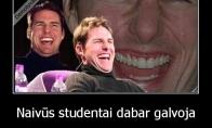 Studentų naivumas