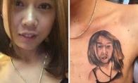 Pačios kvailiausios tatuiruotės, kurias pasidarė žmonės [GALERIJA]