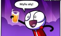 Skirtingų gėrimų mėgėjai