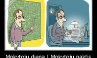 Mokytojų kasdienybė