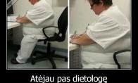 Atėjau pas dietologę