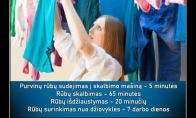 Rūbų skalbimo proceso istorija