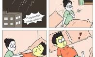 Kai naktį žaibuoja