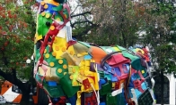 Gyvūnų skulptūros iš atliekų [GALERIJA]
