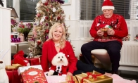 Prabangios Kalėdos šuniui